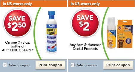 PetSmart printable coupons - November 2012